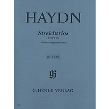 G. Henle Verlag String Trios - Volume 3 Henle Music Folios Series Softcover Composed by Joseph Haydn