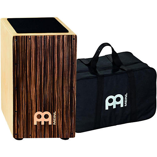 Meinl Striped Umber String Cajon with Bag