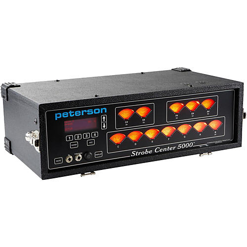 Peterson Strobe Center 5000-II Tuner-thumbnail