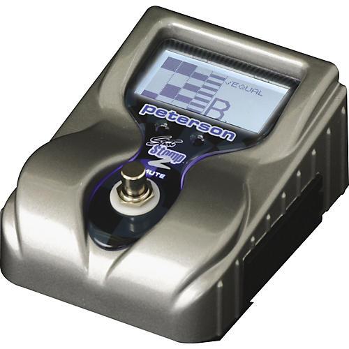 Peterson StroboStomp2 Pedal Virtual Strobe Tuner
