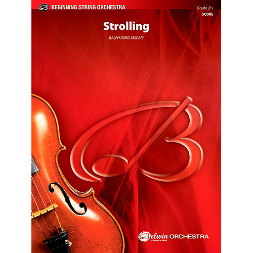 Alfred Strolling String Orchestra Grade 2.5 Set-thumbnail