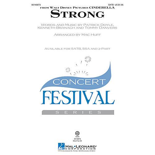 Hal Leonard Strong (from Cinderella) SATB arranged by Mac Huff-thumbnail