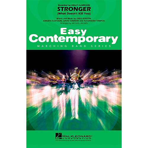 Hal Leonard Stronger (What Doesn't Kill You) - Easy Pep Band/Marching Band Level 2-thumbnail