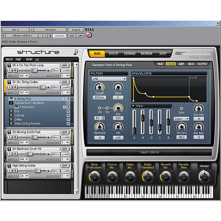 DigidesignStructure LE Sampler Virtual Instrument