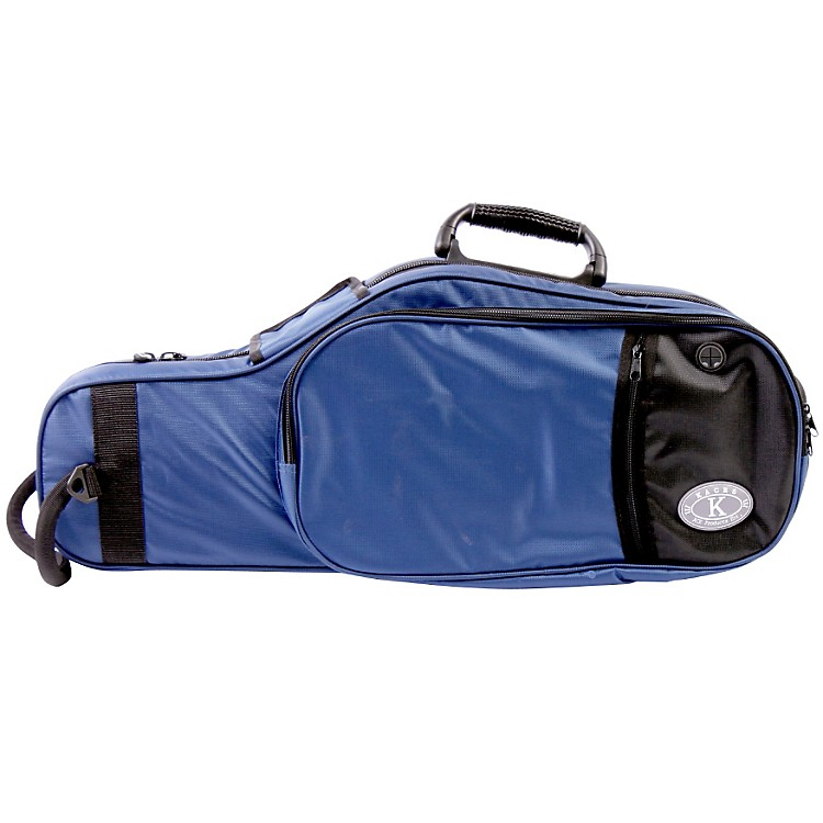 Kaces Structure Series Polyfoam Alto Sax Case Dark Blue
