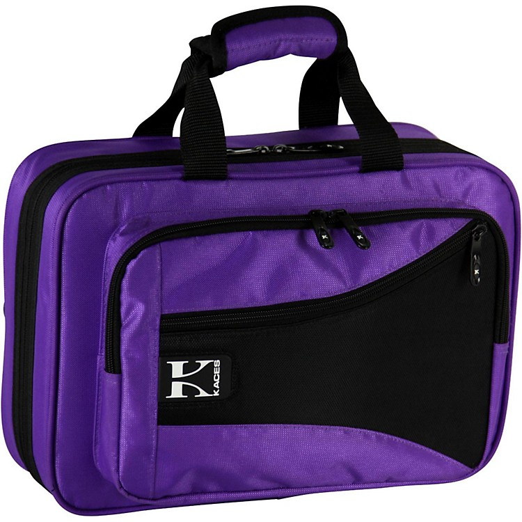 Kaces Structure Series Polyfoam Clarinet Case Purple
