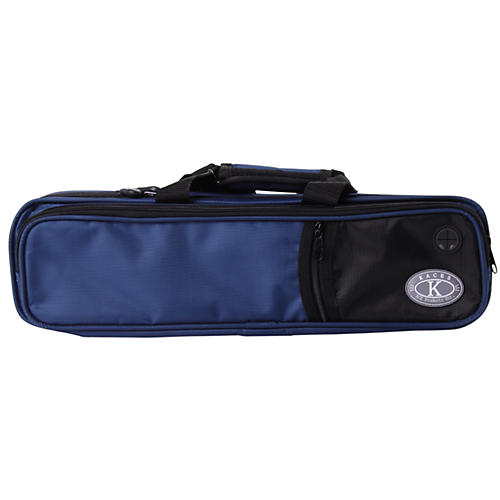Kaces Structure Series Polyfoam Flute Case Dark Blue