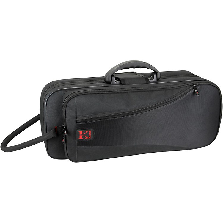 Kaces Structure Series Polyfoam Trumpet Case Dark Red