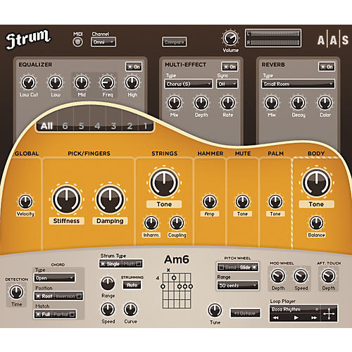 AAS Strum Acoustic GS-1 Guitar Software Synth