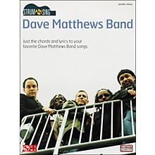 Cherry Lane Strum & Sing Dave Matthews Band Easy Guitar Series Guitar Tab Songbook