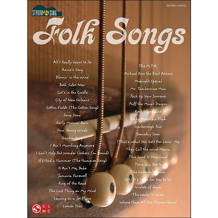 Cherry LaneStrum & Sing Folk Songs for Easy Guitar