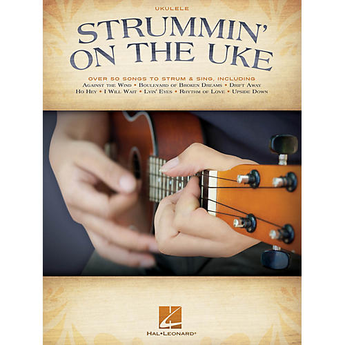 Hal Leonard Strummin' on the Uke (Melody/Lyrics/Chords) Ukulele Series Softcover Performed by Various-thumbnail