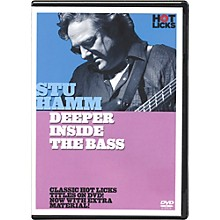 Hot Licks Stu Hamm Deeper Inside the Bass DVD
