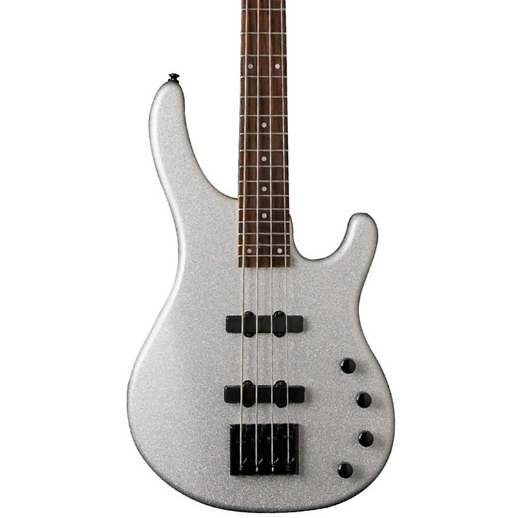 Washburn Stu Hamm Signature Electric Bass Silver Sparkle