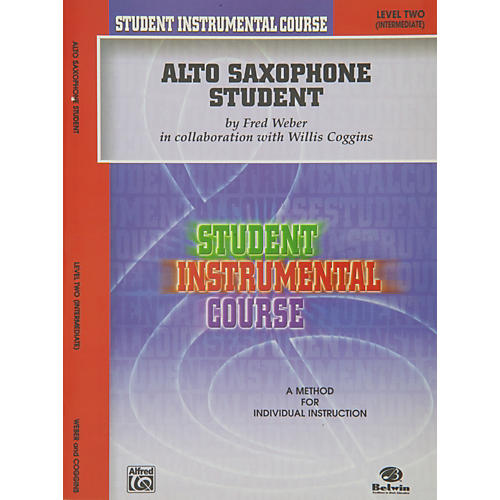 Alfred Student Instrumental Course Alto Saxophone Student Level II-thumbnail