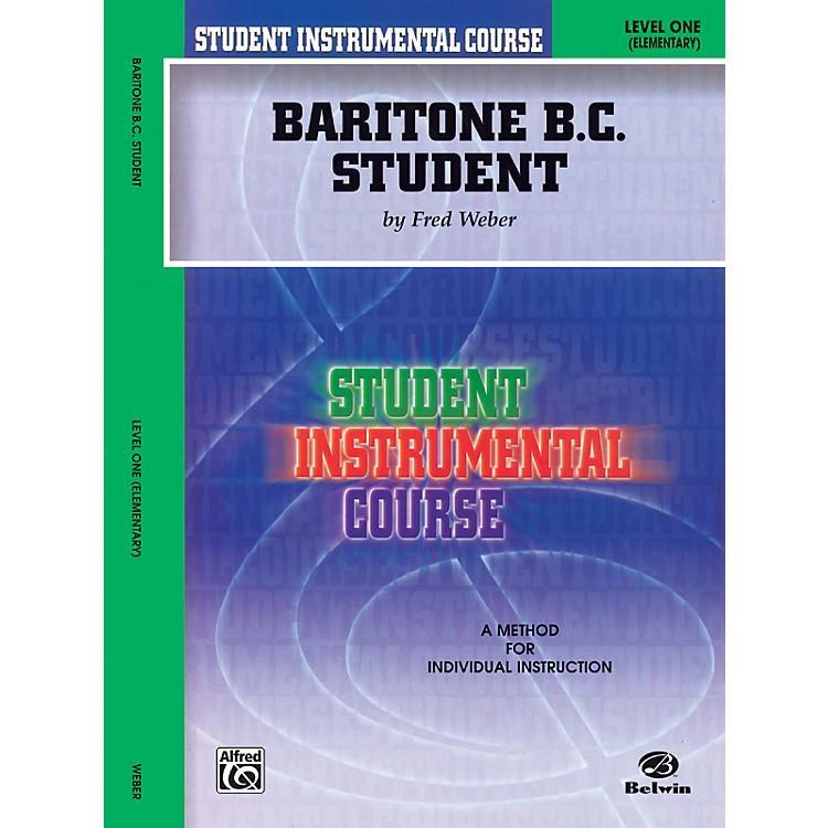 AlfredStudent Instrumental Course Baritone (B.C.) Student Level 1 Book