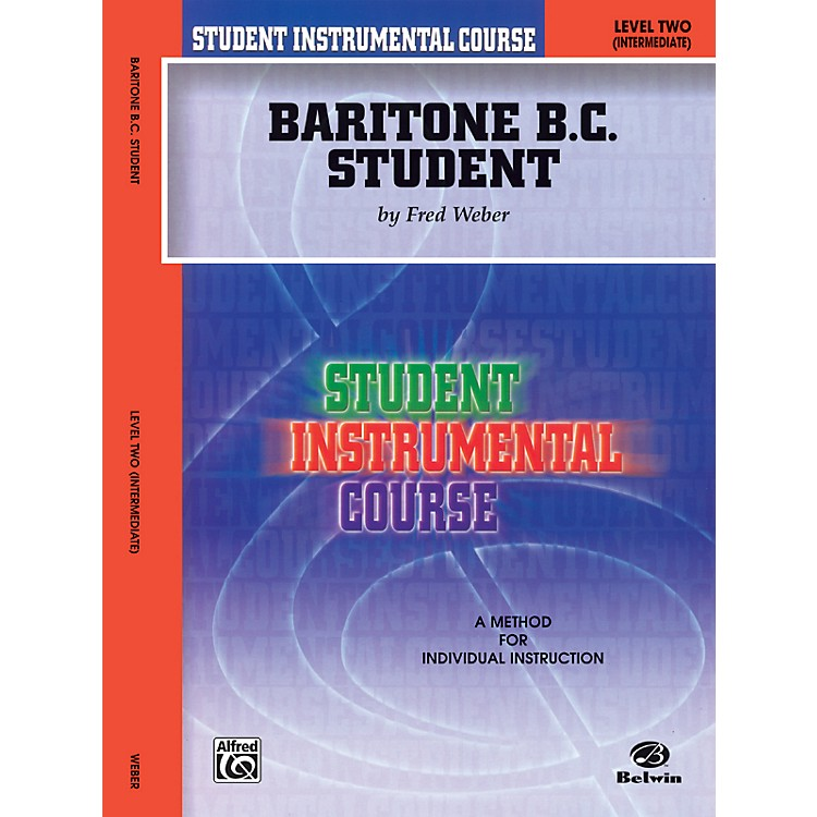 AlfredStudent Instrumental Course Baritone (B.C.) Student Level II