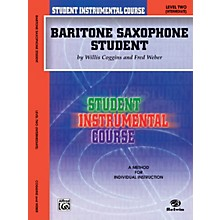 Alfred Student Instrumental Course Baritone Saxophone Student Level II