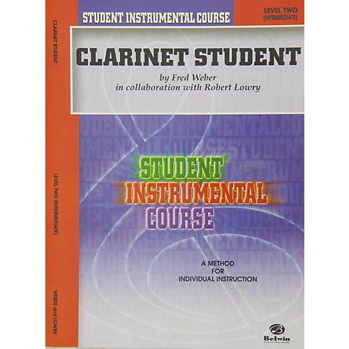 Alfred Student Instrumental Course Clarinet Student Level II