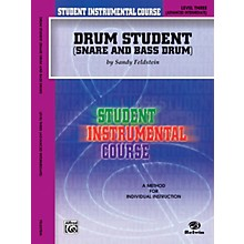 Alfred Student Instrumental Course Drum Student Level 3 Book