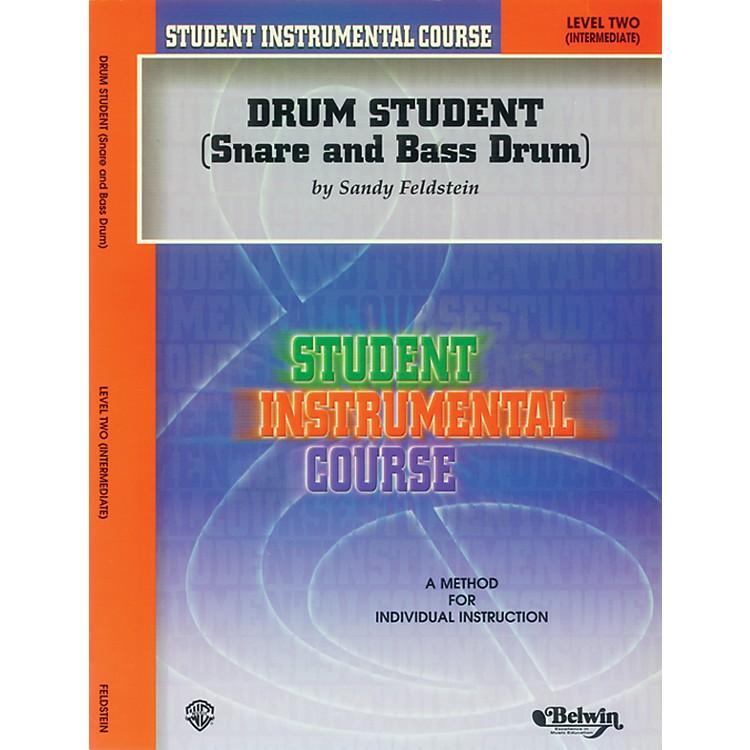 AlfredStudent Instrumental Course Drum Student Level II