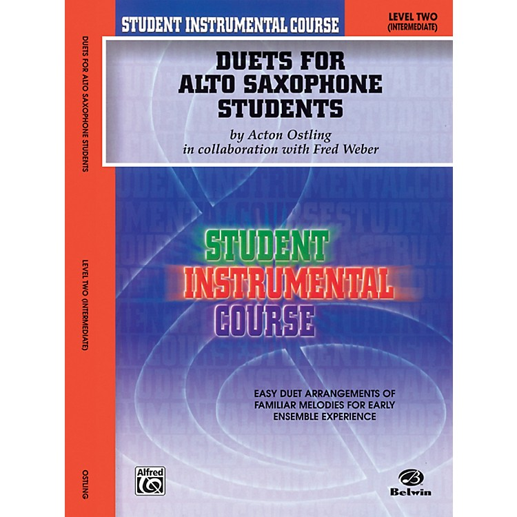 AlfredStudent Instrumental Course Duets for Alto Saxophone Students Level II Book