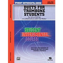Alfred Student Instrumental Course Duets for Trombone Students Level 2 Book