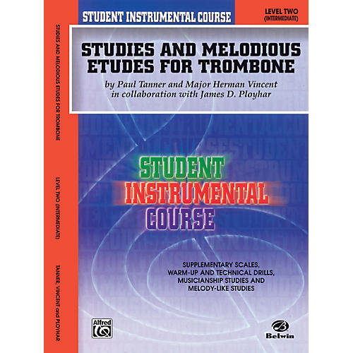 Alfred Student Instrumental Course Studies and Melodious Etudes for Trombone Level II