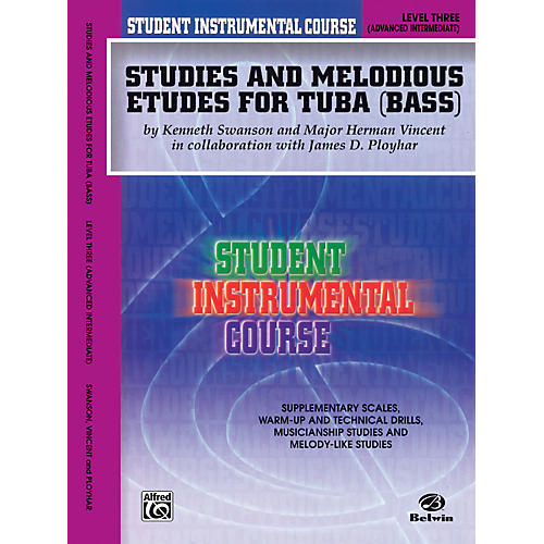 Alfred Student Instrumental Course Studies and Melodious Etudes for Tuba Level III-thumbnail