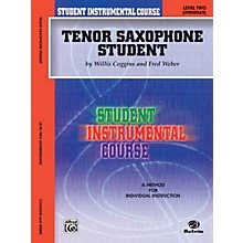 Alfred Student Instrumental Course Tenor Saxophone Student Level II