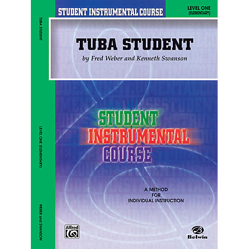 Alfred Student Instrumental Course Tuba Student Level 1 Book-thumbnail