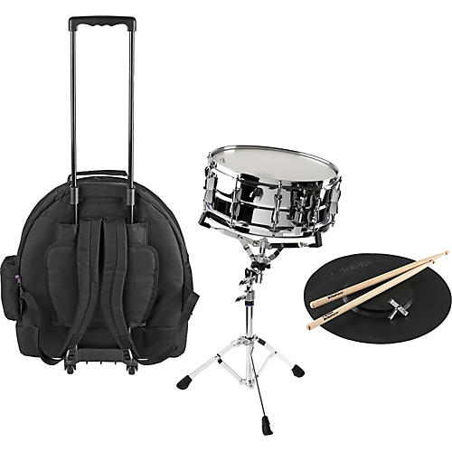 Yamaha Student Snare Drum Kit with Rolling Case