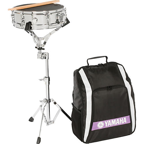 Yamaha student snare kit musician 39 s friend for Yamaha student bell kit with backpack and rolling cart