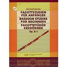 Editio Musica Budapest Studies for Bassoon, Op. 8 - Volume 1 EMB Series by Julius Weissenborn