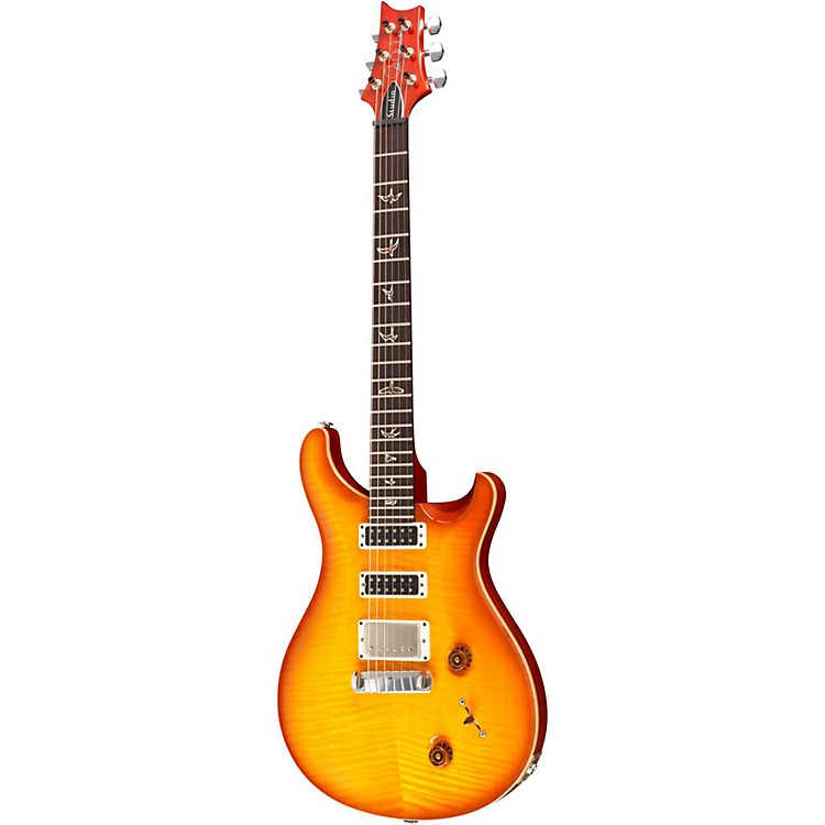 PRS Studio 10 Top With Pattern Thin Neck and Stoptail Electric Guitar McCarty Sunburst