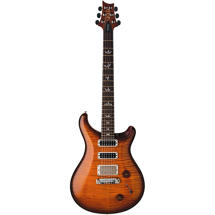 PRS Studio 10 Top With Stoptail Electric Guitar Smoked Cherry Burst
