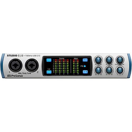 PreSonus Studio 68 (6x8 USB 2.0 24-bit 192 kHz Audio Interface)-thumbnail