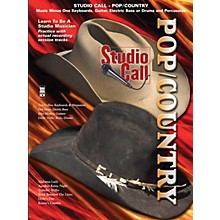 Music Minus One Studio Call: Pop/Country - Guitar Music Minus One Series Softcover with CD