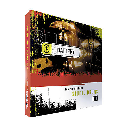 Native Instruments Studio Drums Battery Recharge Sample CD-thumbnail