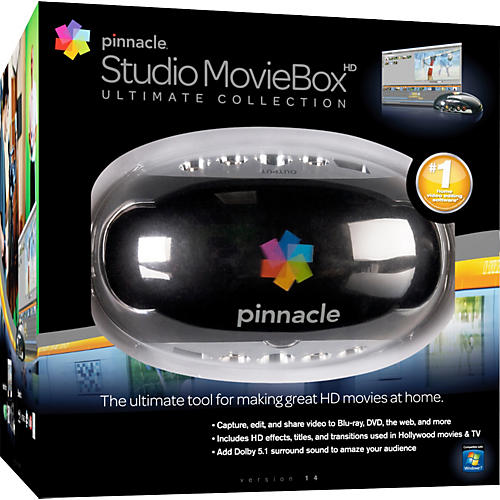 Pinnacle Studio MovieBox Ultimate Collection 14