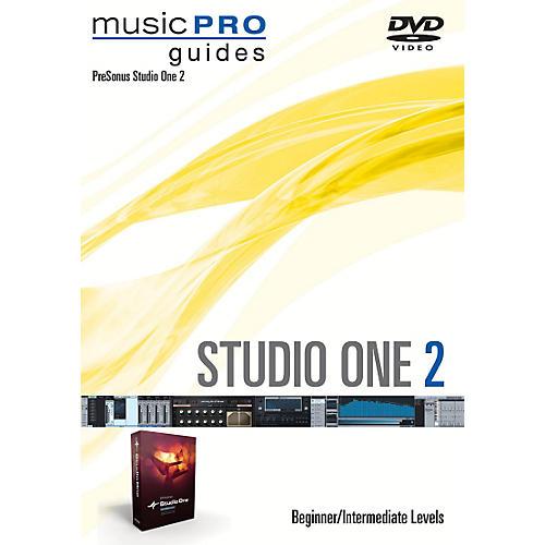 Hal Leonard Studio One 2 Beginner/Intermediate Level Music Pro Guide Series DVD