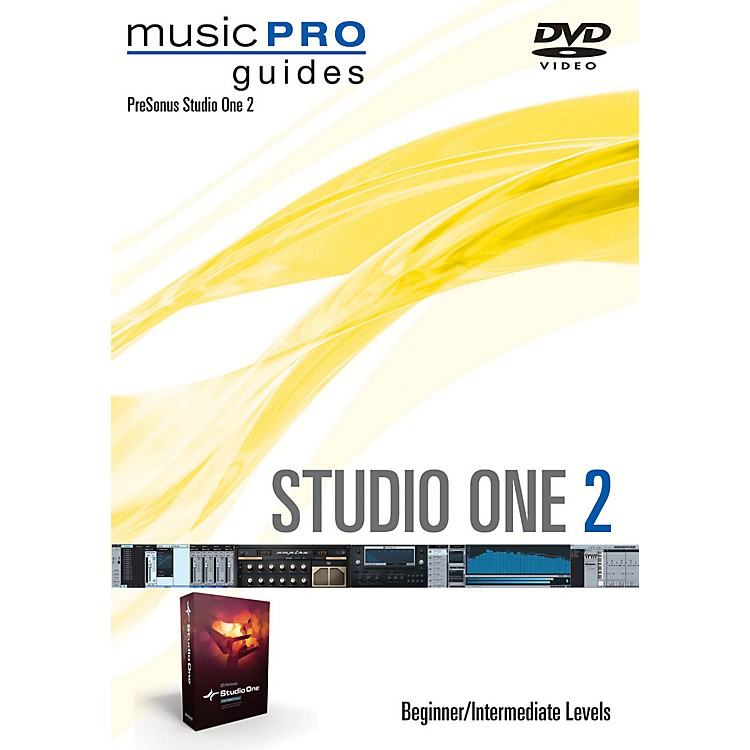 Hal Leonard Studio One 2 Beginner/Intermediate Level Music Pro Guide Series DVD