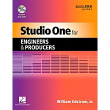 Hal Leonard Studio One For Engineers & Producers  Quick Pro Guides Series Book/DVD-ROM