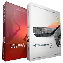 PreSonus Studio One Professional and Notion 6 Bundle