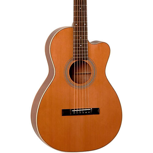 recording king studio series 12 fret cutaway thermocure top 0 acoustic guitar natural musician. Black Bedroom Furniture Sets. Home Design Ideas