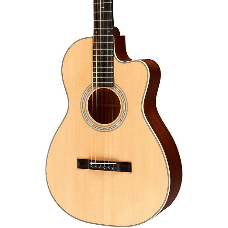 Recording King Studio Series 12 Fret O Acoustic Guitar with Cutaway Natural