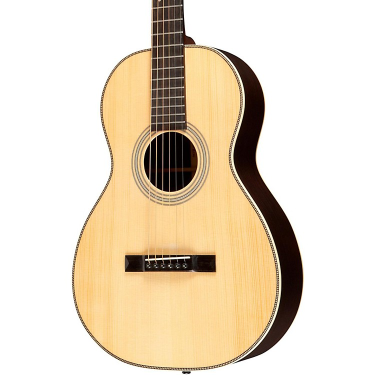 Recording King Studio Series 12 Fret O-Style Adirondack/Rosewood Acoustic Guitar Natural