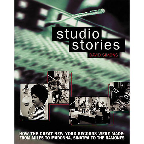 Backbeat Books Studio Stories Book