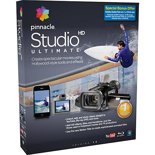 Pinnacle Studio Ultimate 14