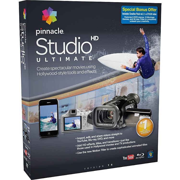 Pinnacle Studio Ultimate 14
